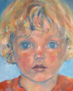 "'Granddaughter' Oil on Canvas  14""x 11"" Commission"